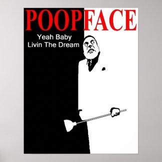 Poopface Print