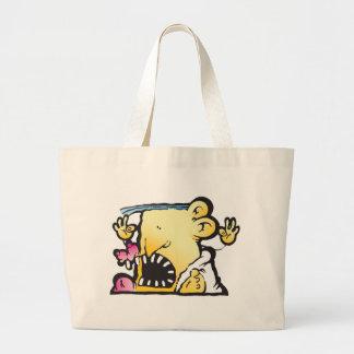 Poopie Head Tote Bag