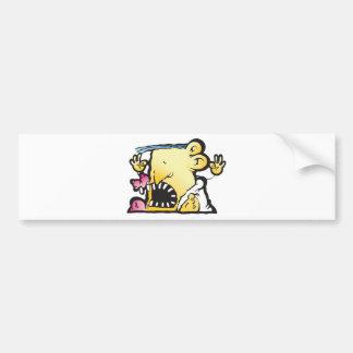 Poopie Head Bumper Stickers