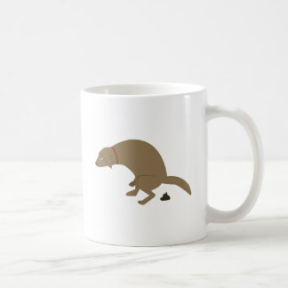 Pooping Dog Coffee Mug