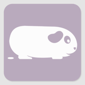 Pooping Guinea Pig Stickers