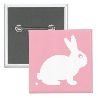 Pooping Rabbit Button Badge