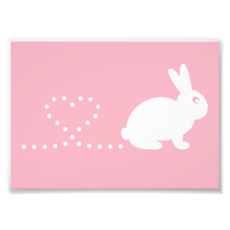Pooping Rabbit Print (Frames Available!) Photo Print