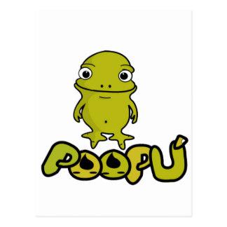 PooPU + PooPO + PipPI + PoPo Tarjetas Postales