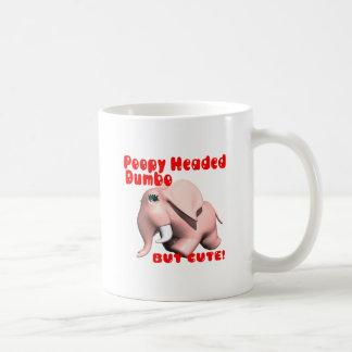 Poopy Headed Dumbo Coffee Mug