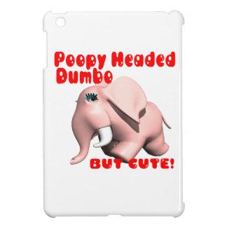 Poopy Headed Dumbo iPad Mini Cover
