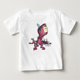 poopy octopus kids baby T-Shirt