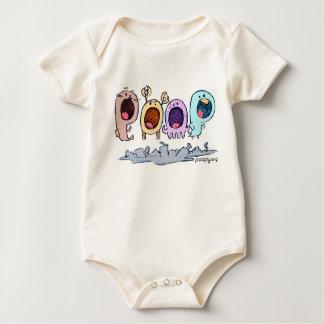 poopy wtf baby bodysuit