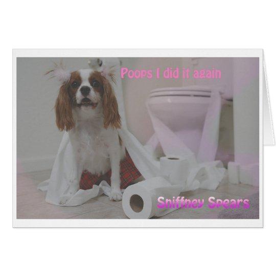 PoopySpears Card