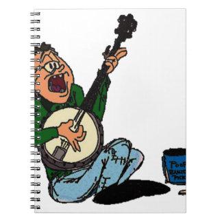 Poor Banjo Picker Notebook