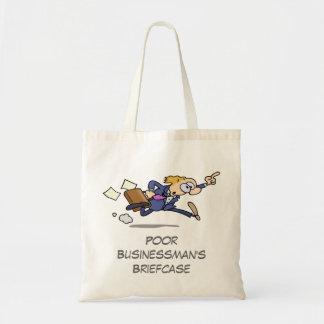 Poor Businessman's Briefcase Budget Tote Bag