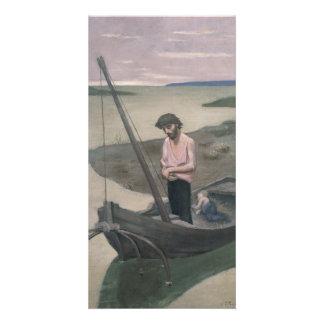 Poor Fisherman by Pierre Puvis de Chavannes Card