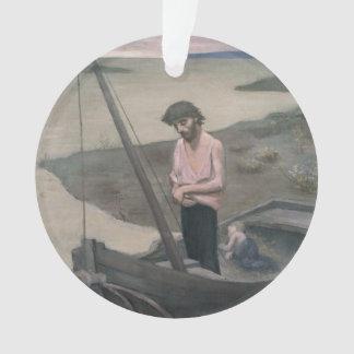 Poor Fisherman by Pierre Puvis de Chavannes Ornament