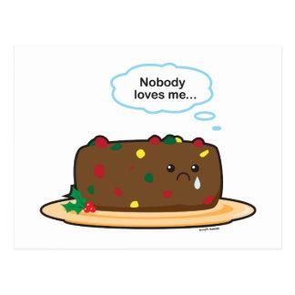 Poor Fruitcake! Postcard