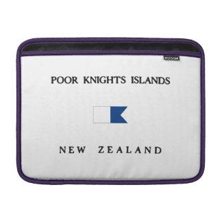 Poor Knights Islands Alpha Dive Flag MacBook Sleeve