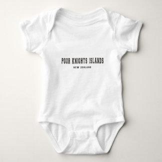Poor Knights Islands New Zealand Baby Bodysuit