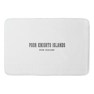 Poor Knights Islands New Zealand Bathroom Mat
