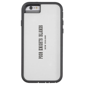 Poor Knights Islands New Zealand Tough Xtreme iPhone 6 Case