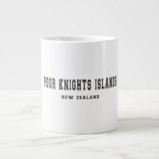 Poor Knights Islands New Zealand Giant Coffee Mug