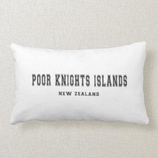 Poor Knights Islands New Zealand Lumbar Pillow