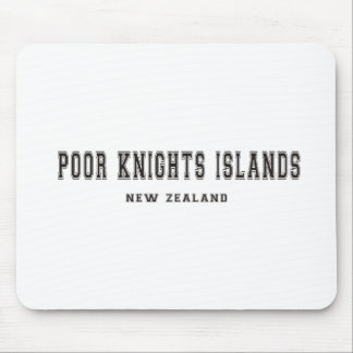 Poor Knights Islands New Zealand Mouse Pad
