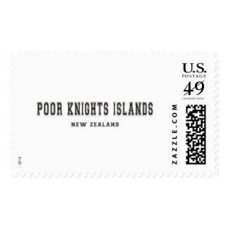 Poor Knights Islands New Zealand Postage