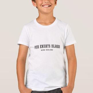 Poor Knights Islands New Zealand T-Shirt