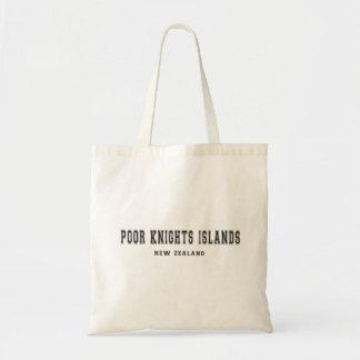 Poor Knights Islands New Zealand Tote Bag