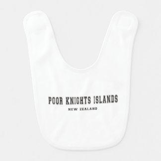 Poor Knights Islands New Zealand Baby Bib