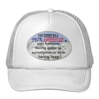 poor lazy trucker hat