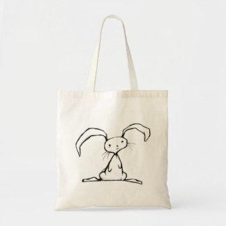 Poor Little Bunny Budget Tote Bag
