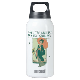 Poor Little Butterfly Is A Fly Girl Now Insulated Water Bottle