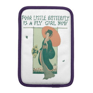 Poor Little Butterfly Is A Fly Girl Now iPad Mini Sleeve