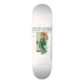 Poor Little Butterfly Is A Fly Girl Now Skate Boards