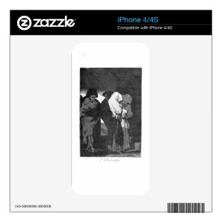 Poor little girls! by Francisco Goya Decals For iPhone 4