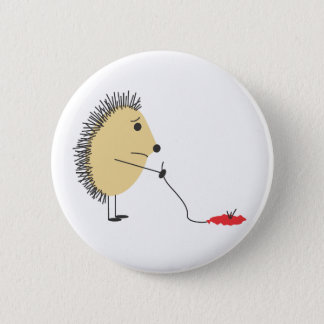 Poor Little Hedgehog Button