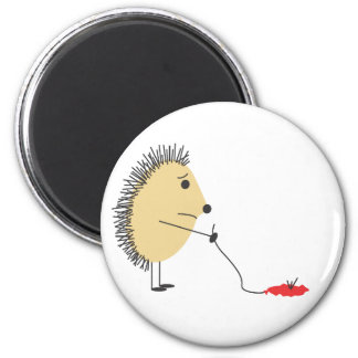 Poor Little Hedgehog Magnet