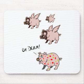 Poor Little Piggy Mouse Pad