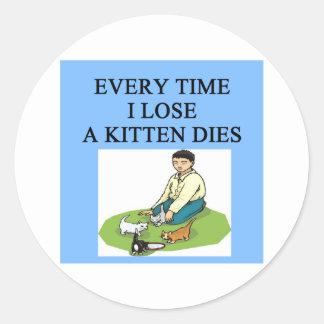 poor loser gifts sticker