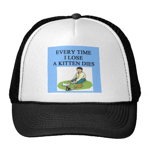poor loser gifts trucker hat