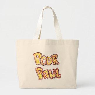 Poor Paul Beach Tote Bag