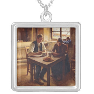 Poor People Silver Plated Necklace