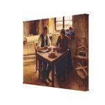 Poor People Stretched Canvas Print