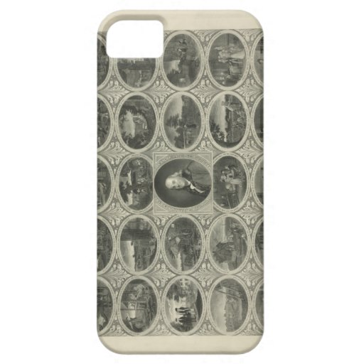 Poor Richard Illustrated By Benjamin Franklin 1887 iPhone 5 Covers