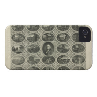 Poor Richard Illustrated By Benjamin Franklin 1887 iPhone 4 Cover