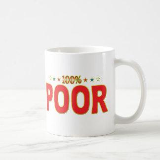 Poor Star Tag Classic White Coffee Mug