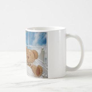 Poor Teddy Classic White Coffee Mug