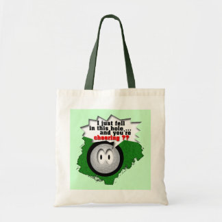 Poor Widdle Ball Budget Tote Bag