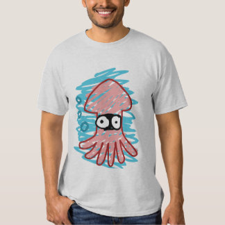 Poorly Drawn Squid Shirt