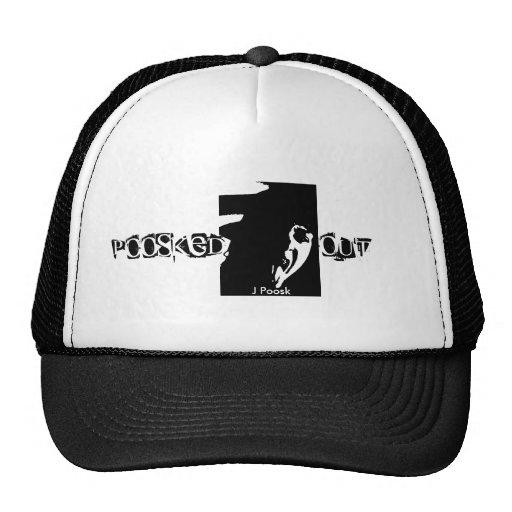 Poosked hacia fuera gorras